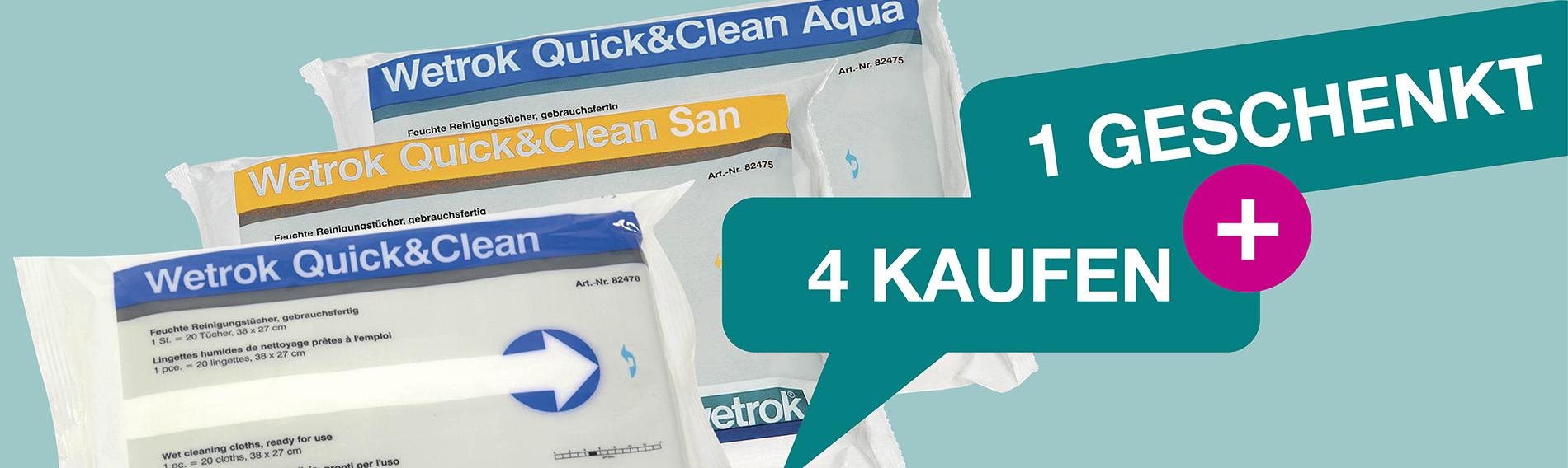 Quick & Clean: 5 för 4